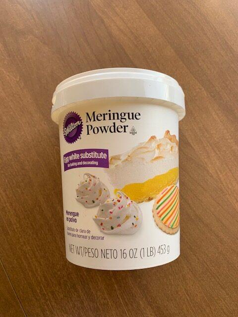 Contain of Meringue Powder