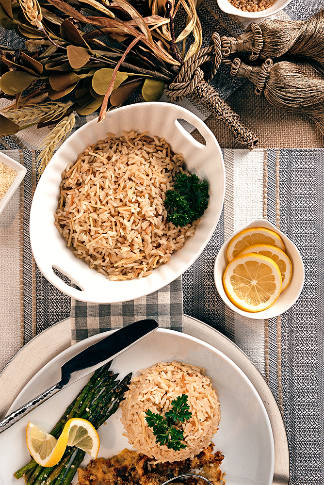 Rice Pilaf in a bowl